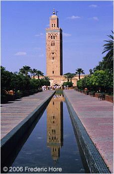 Marrakech's most prominent landmark