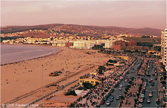 Tangier at Sunset